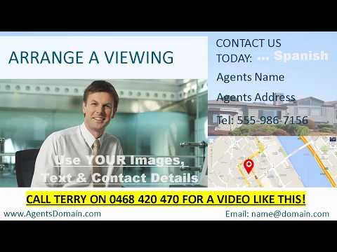 Real Estate Videos in Different Languages. Call 0468 420 470 and Get Your Properties Seen!