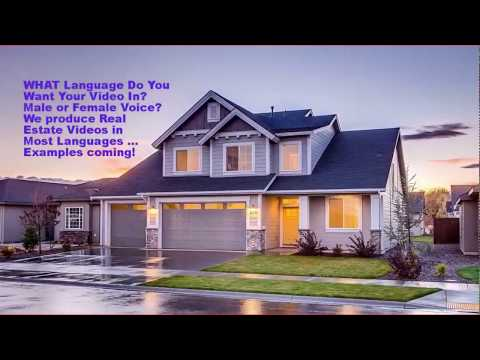 Real Estate Videos In Any Language; Call 0468 420 470 For Your Real Estate Video!