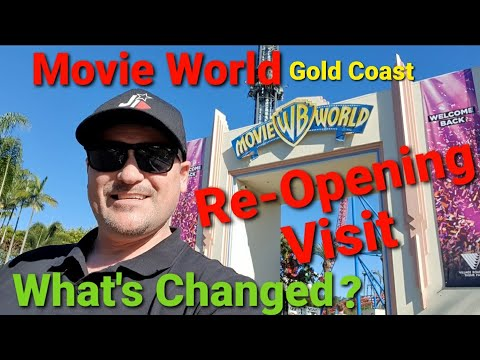 MOVIE WORLD – Gold Coast Re-Opening Visit. What's Changed?