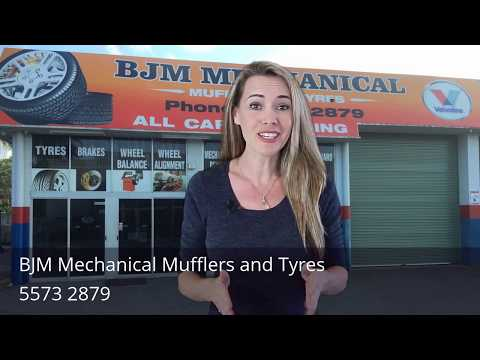 BJM Mechanical Mufflers and Tyres Oxenford Gold Coast Review by Eliza Burnett