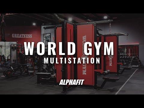 World Gym Multi Station | AlphaFit