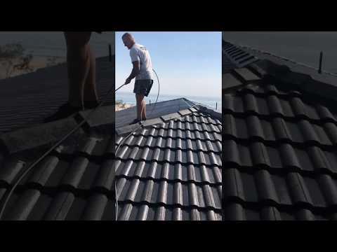 Gold Coast Roof Painting Video 2 – Paint Application