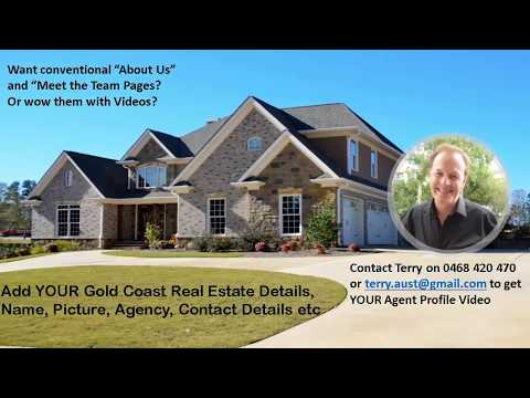 Gold Coast Real Estate AGENT Video Sample; Call 0468 420 470 for your Real Estate Agent Video
