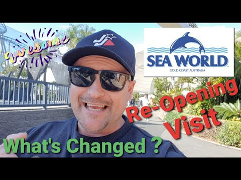 SEA WORLD – Gold Coast Re-opening VISIT. What's Changed?